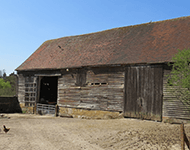 Farmers shed in Groombridge, near Crowborough